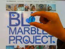 Latino American - Blue Marbles - 04