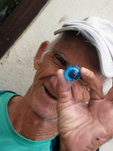 Latino American - Blue Marbles - 11