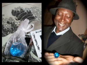 Latino American - Blue Marbles - 15
