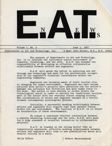 EAT News - Volume 1, 1967