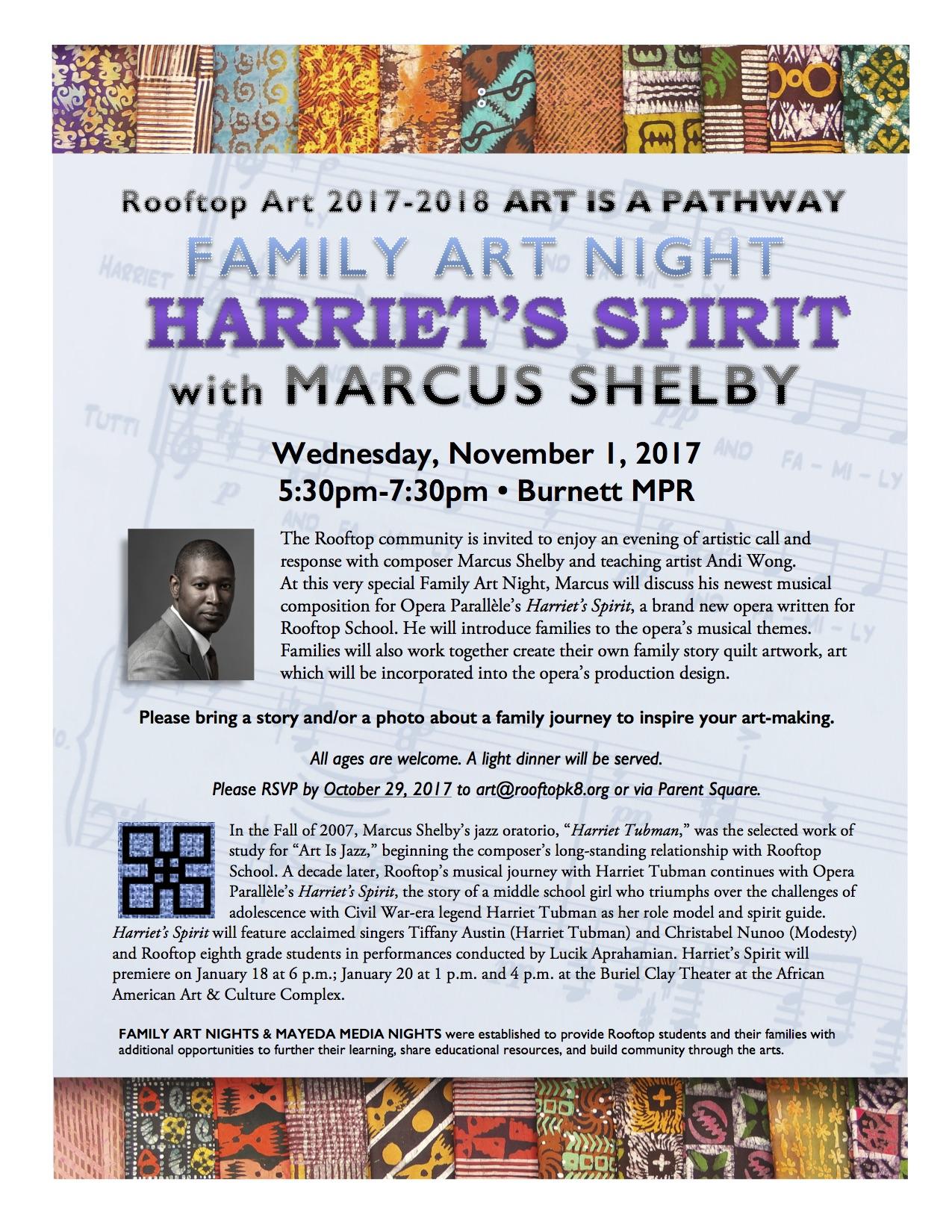 FAN 2017 Harriet's Spirit with Marcus Shelby,jpg