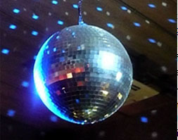 This image has an empty alt attribute; its file name is disco_ball4.jpg